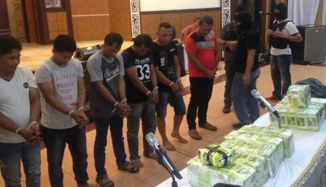 Ironis! Oknum Polisi Terlibat dalam Penyelundupan Sabu di Sumatera Utara
