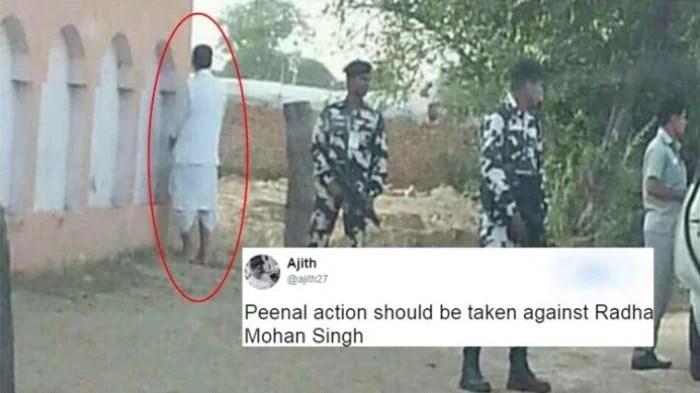 Kencing Sembarangan, Menteri India Ini Di-Bully Netizen