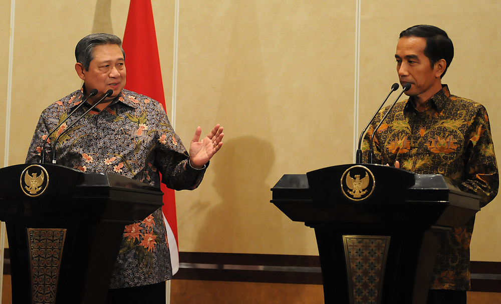 Dituding Jalankan Kekuasaan Absolut, Jokowi Sebut SBY Lebay