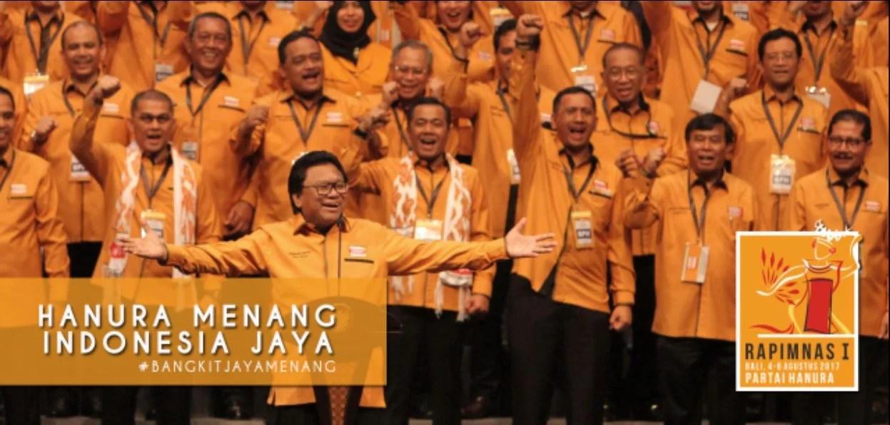 Gelar Rapimnas, Hanura Targetkan Sebagai 4 Partai Terbesar di Pemilu 2019
