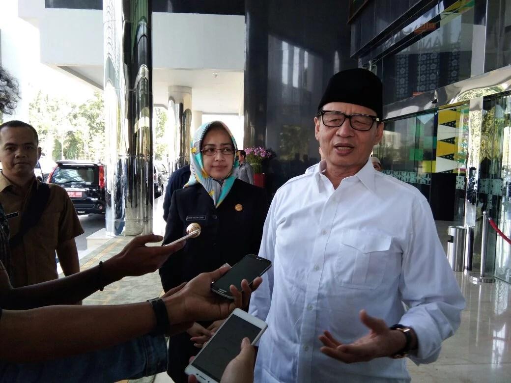 Bertandang Ke Tangsel, Gubernur Banten Wahidin Halim Sinkronisasi Pembangunan Daerah