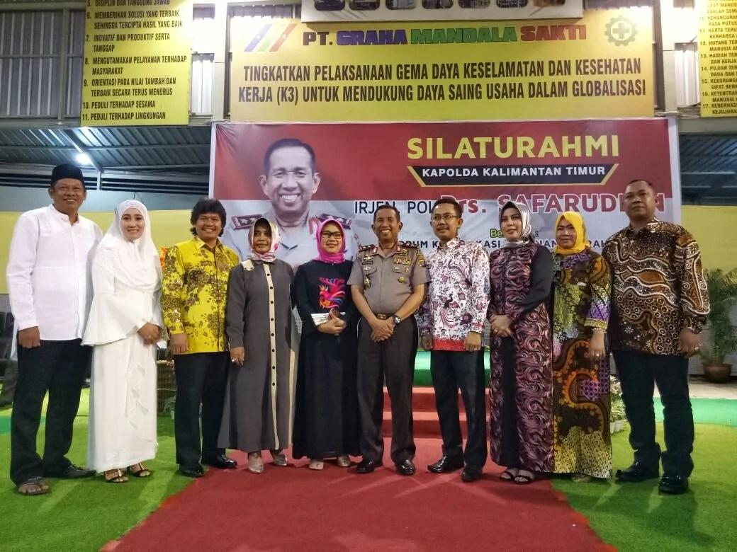 Jaga Keamanan Kaltim, FKPD dan KKSS Bontang Gelar Silaturahmi Bersama Kapolda Irjen Pol Drs Safaruddin
