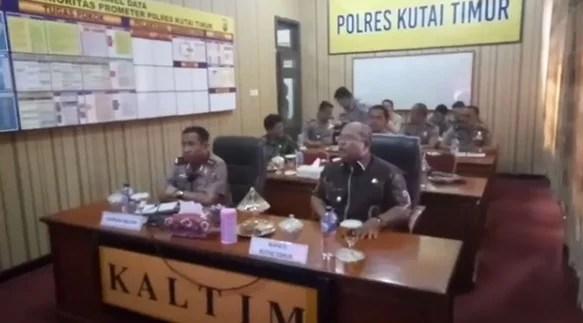 Kapolda Kaltim Tingkatkan Pengawalan Dana Desa dan Deteksi Dini Terorisme