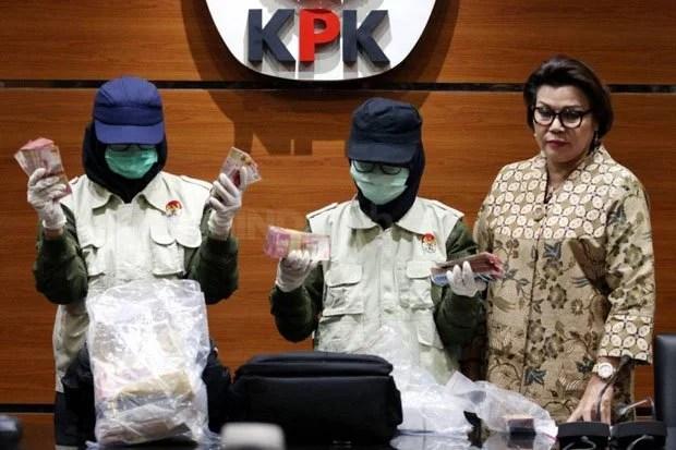 Penikmat Uang Haram Suap APBD Jambi Kembalikan Uang ke KPK, Identitas Masih Disembunyikan
