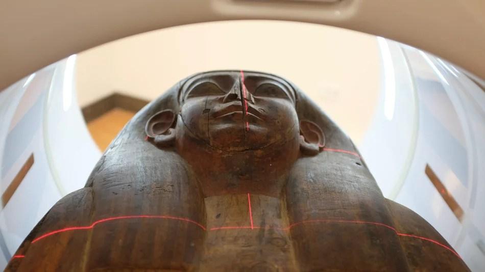 Mummy Ditemukan Dalam Peti Mati yang Selama 160 Tahun Dianggap Kosong