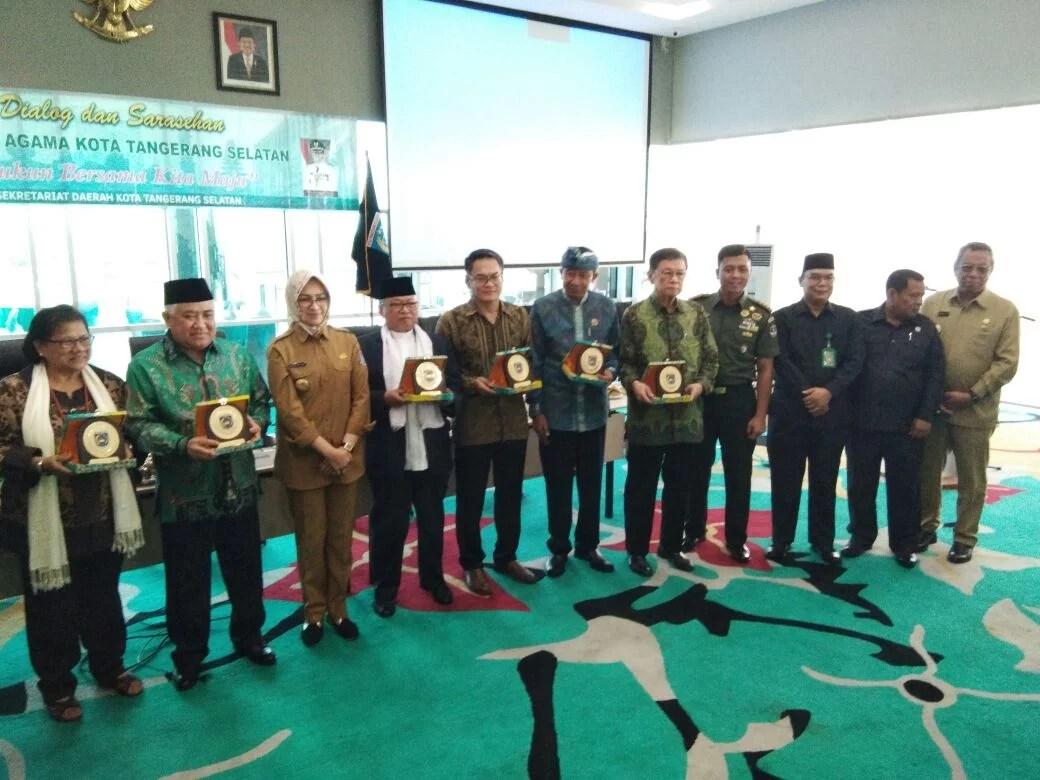 Kota Tangsel Dipilih Sebagai Kota Pertama Dialog dan Sarasehan Pemuka Agama