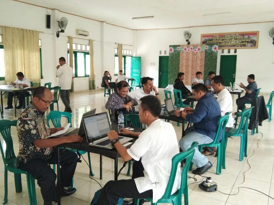 ULP Kota Tangsel Lakukan Tahapan Pembuktian Kualifikasi Sebanyak 20 Paket