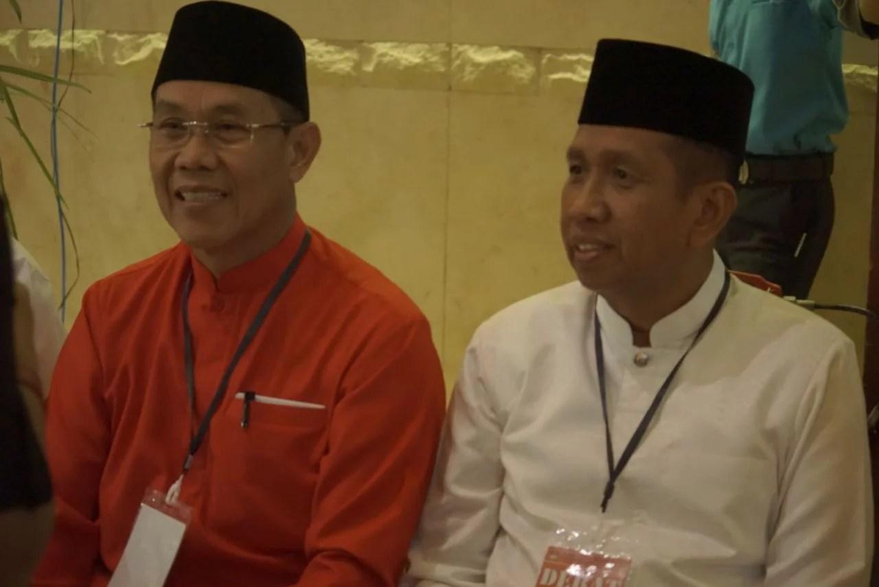 Debat Perdana, Safaruddin Membuat Awang Ferdian Melongo-Tertawa Malu