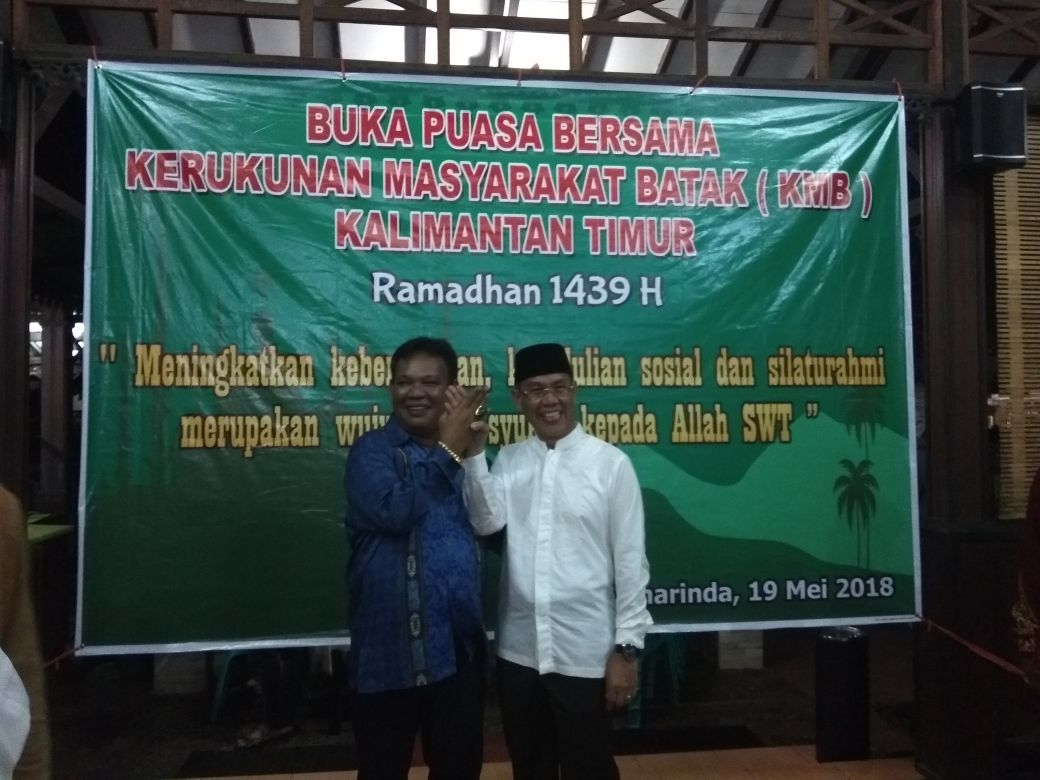 Buka Puasa Bersama Masyarakat Batak, Rusmadi disebut Sosok yang Paham Masalah Kaltim