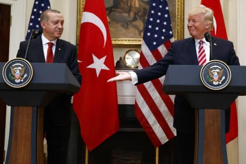 Erdogan: Sikap Trump Soal Nuklir Iran dan Yerusalem Bawa Dunia ke Masa Kelam
