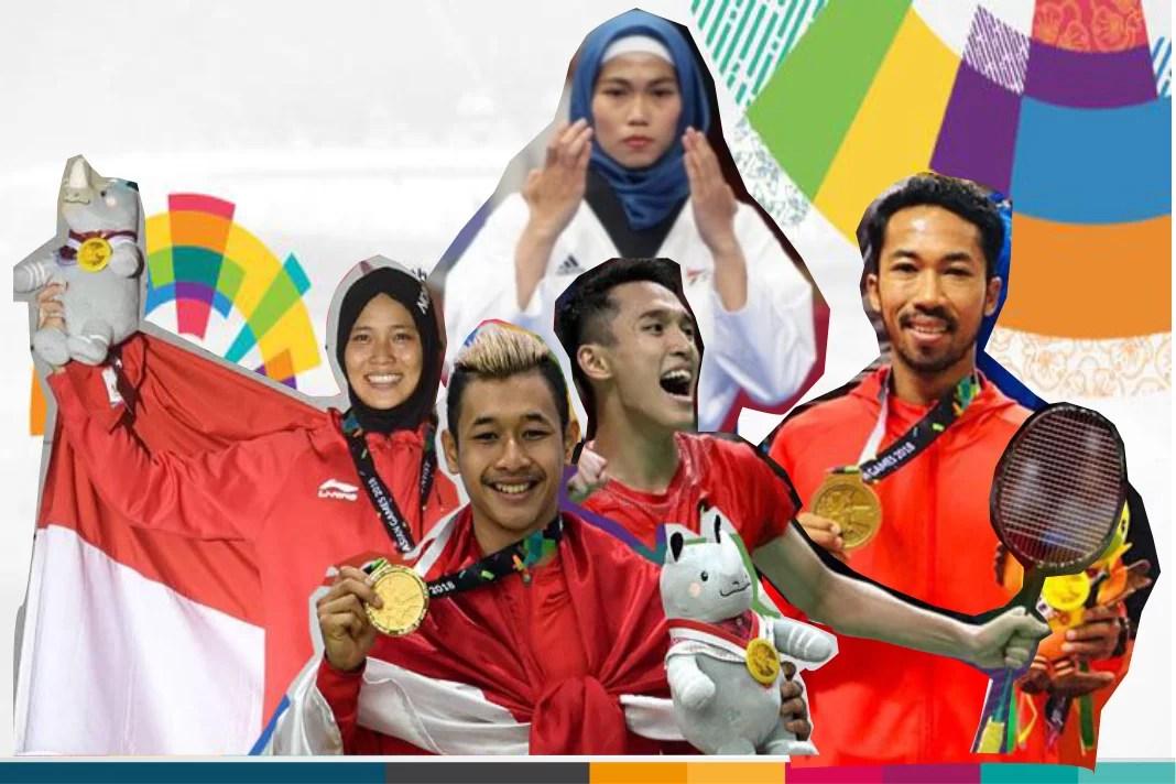 5 Atlet Indonesia Yang Sukses Curi Perhatian di Asian Games 2018