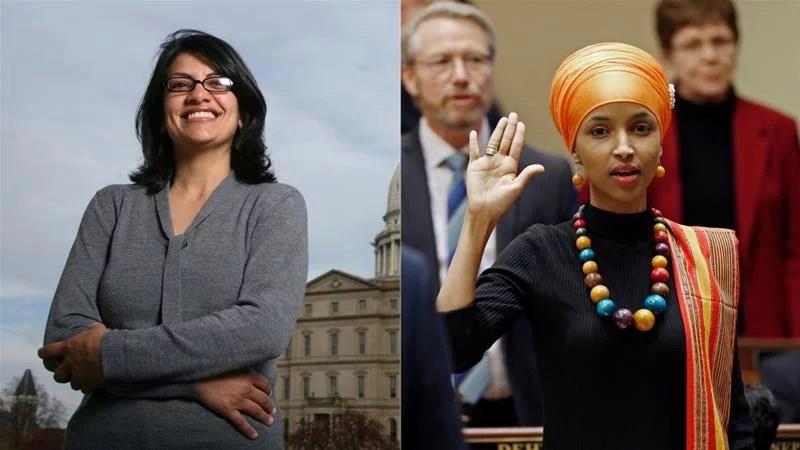 Rashida Tlaib-Ilhan Omar, Wanita Muslim Pertama Yang Terpilih Menjadi Anggota Kongres AS