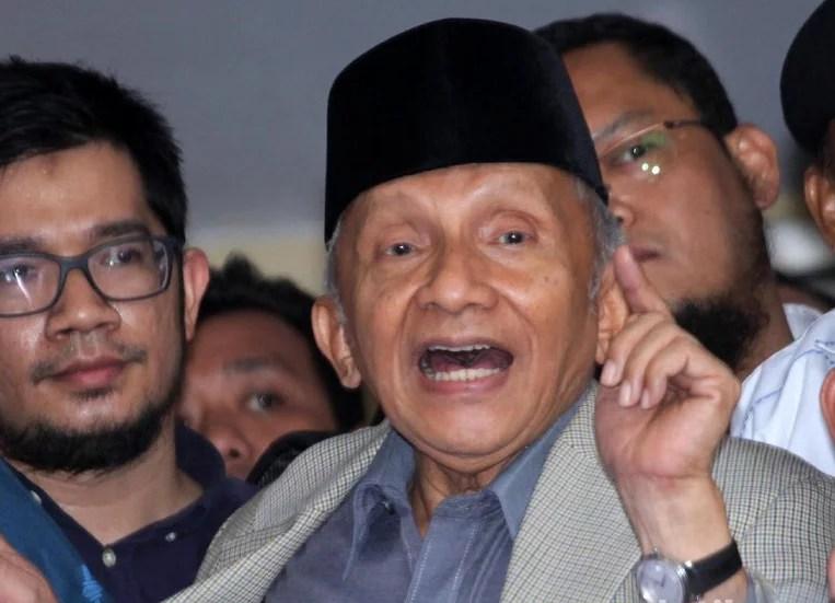Pendiri Partai Desak Amien Rais Mundur dari Ketua Dewan Kehormatan, Pengurus PAN Cuek