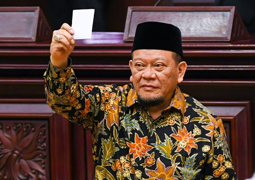 Mantan Ketum PSSI Dapuk Ketua Senator
