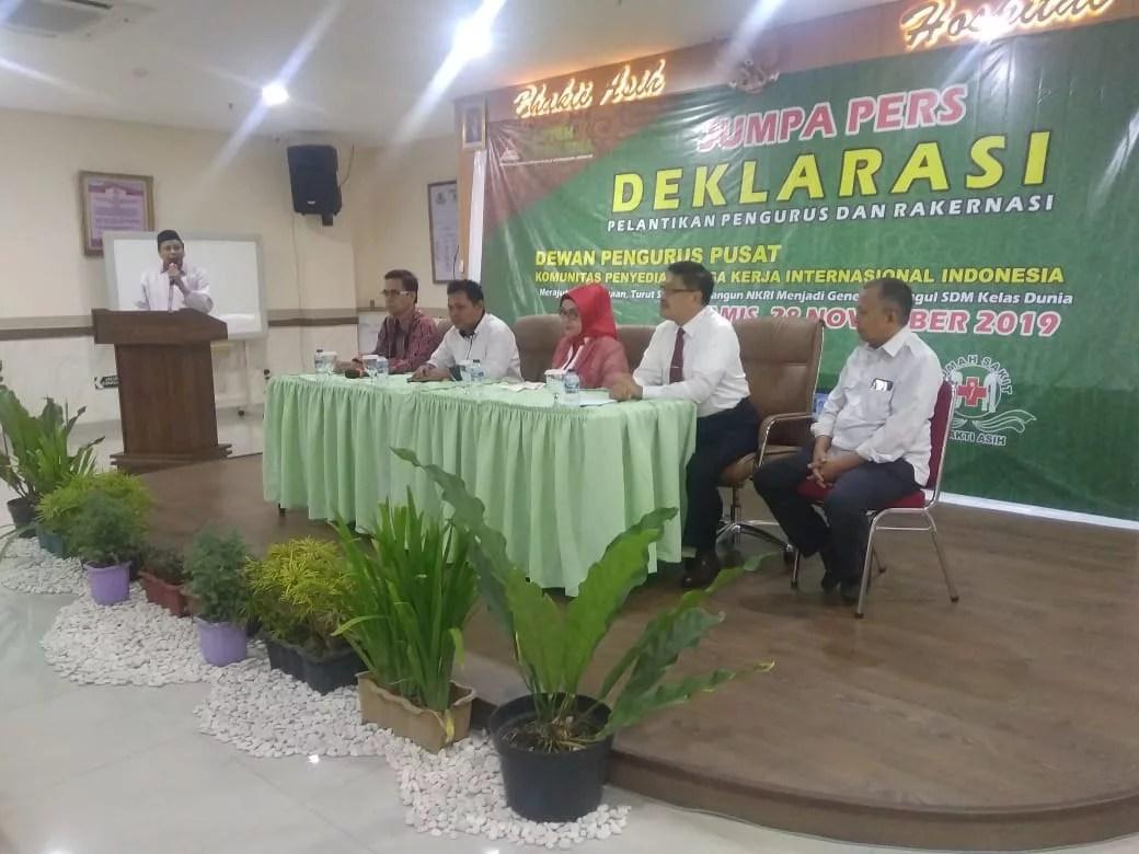 Jelang Pelantikan, Kapten Indonesia Jalin Kerjasama dengan RSU Bhakti Asih