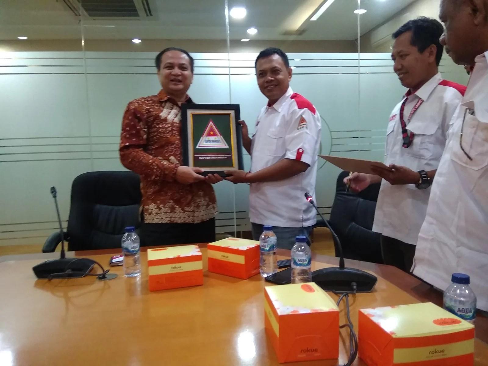 Sambangi BNP2TKI, Kapten Indonesia Sampaikan Komitmen Bela Kepentingan Buruh