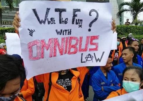 DPR Rencana Percepat Bahas Omnibus Law, Buruh: Tidak Punya Empati
