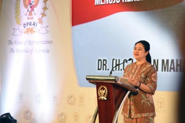 Ketua DPR Puan Maharani Terima Penghargaan 'Inspiring Woman 2020'