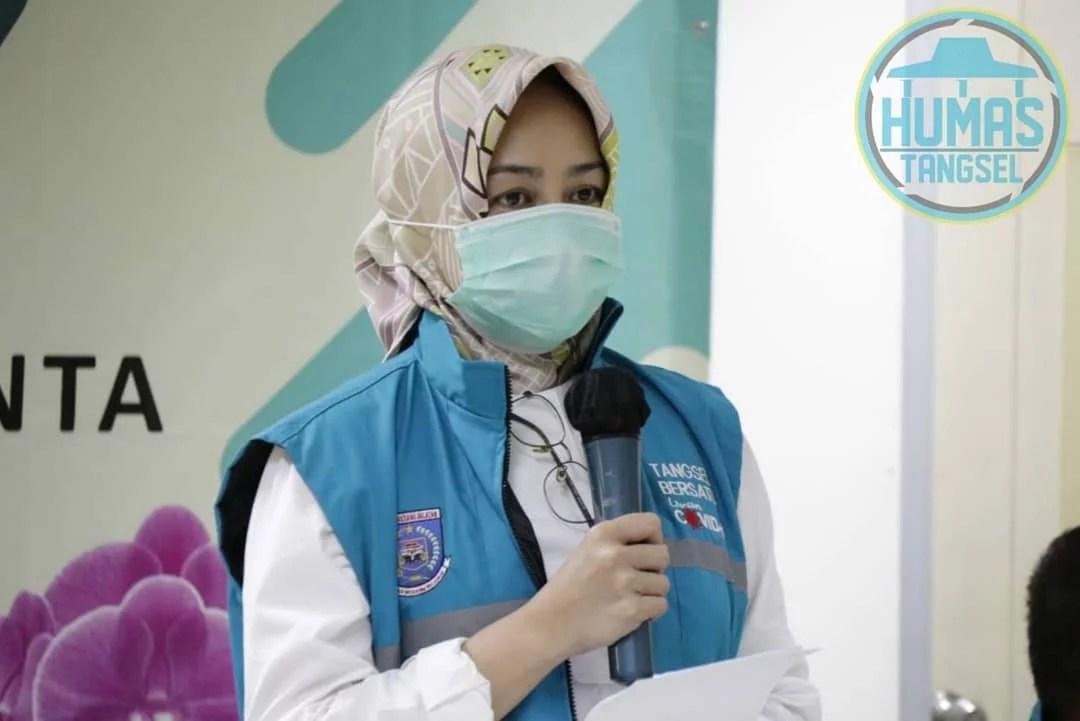 Airin Resmikan Rumah Sakit Rujukan Covid Aria Sentra Medika di Tangsel