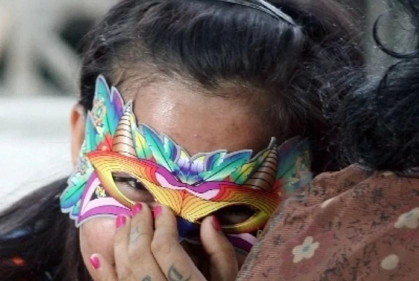 Tetap Kerja Meski Takut Corona, PSK: Kalau Saya Pakai Masker, Enggak Laku Dong