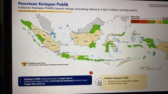 Berikut 102 Kabupaten/ Kota Zona Hijau Covid-19 di Indonesia