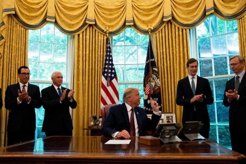 Trump: UEA-Bahrain Normalisasi Dengan Israel, Lima atau Enam Negara Teluk Menyusul