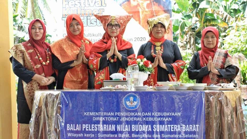 BPNB Sumbar Angkat Pangek Sumpu di Festival Kuliner Tradisional 2020 Tanjungpinang