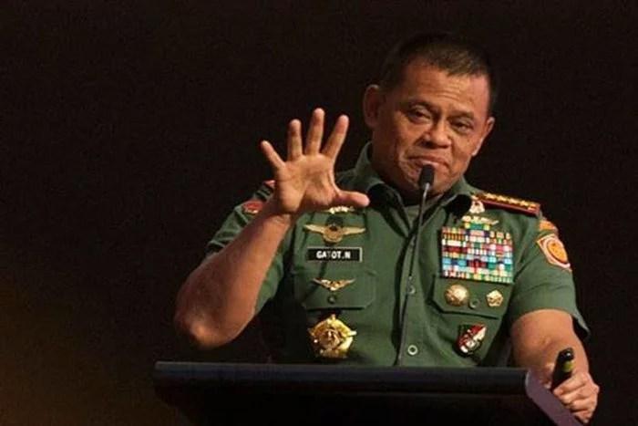 Membatasi Gerak-Gerik Mantan Panglima TNI Gatot Nurmantyo