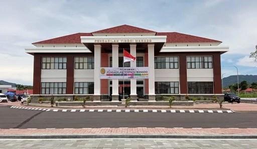 Ikon Baru Daerah Nyiur Melambai, Pengadilan Terpadu Pertama di Asia Tenggara Hadir di Manado