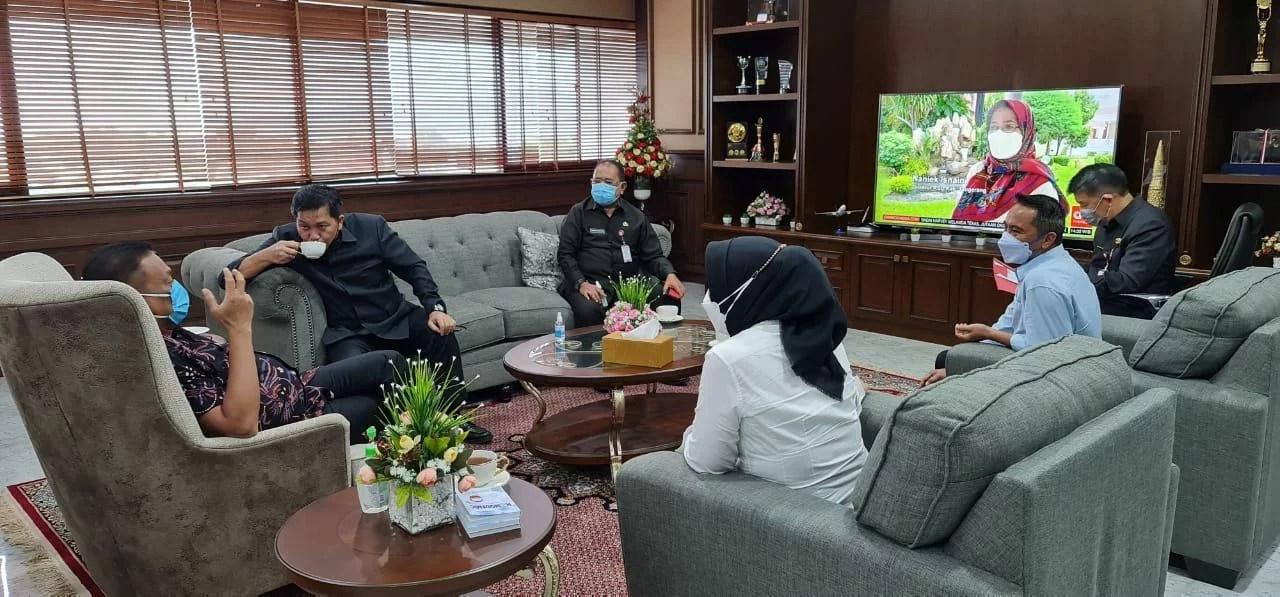 Bupati Boltim Terpilih SSM Bersama Walikota Kotamobagu Silaturahmi di Kediaman Gubernur Sulut