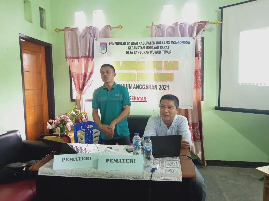 Pemdes Bagunan Wuwuk Timur Gelar Pelatihan KPM dan Kader Posyandu