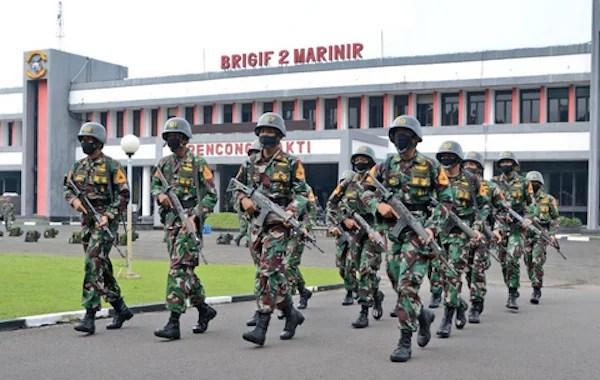Komisi I DPR RI Dorong Kesejahteraan Prajurit Brigif-2 Marinir