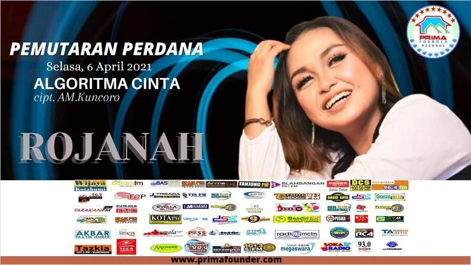 Rojanah Rilis Single Perdana 'Algoritma Cinta' di 60 Radio se-Indonesia