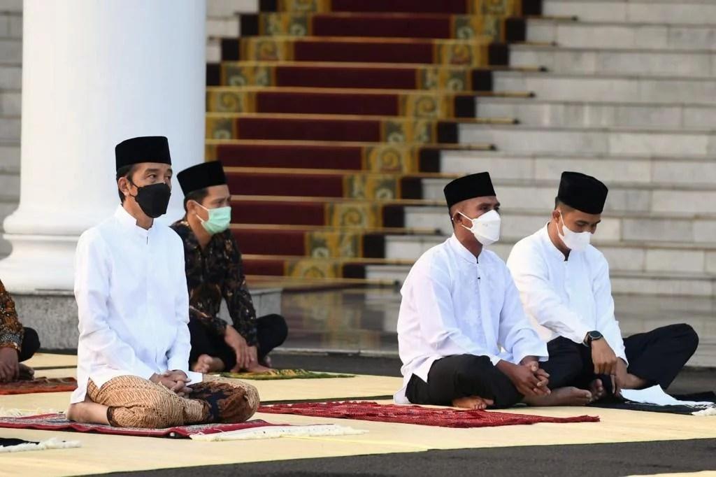 Doa dan Harapan Presiden Jokowi di Hari Idul Fitri dan Kenaikan Isa Almasih