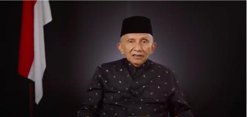Soroti Oligarki di Indonesia, Amien Rais: Jangan Terlalu Percaya Negara China