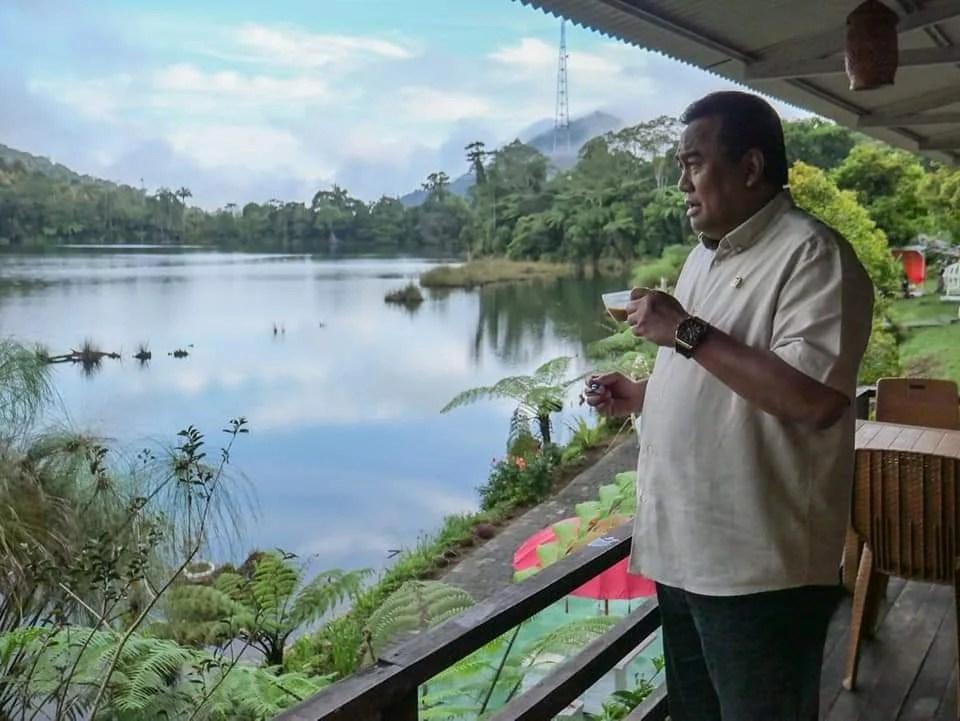 Wakil Ketua DPR RI Rachmat Gobel Kunjungi Boltim, Bupati: Ini Menjadi Rahmat Bagi Kita