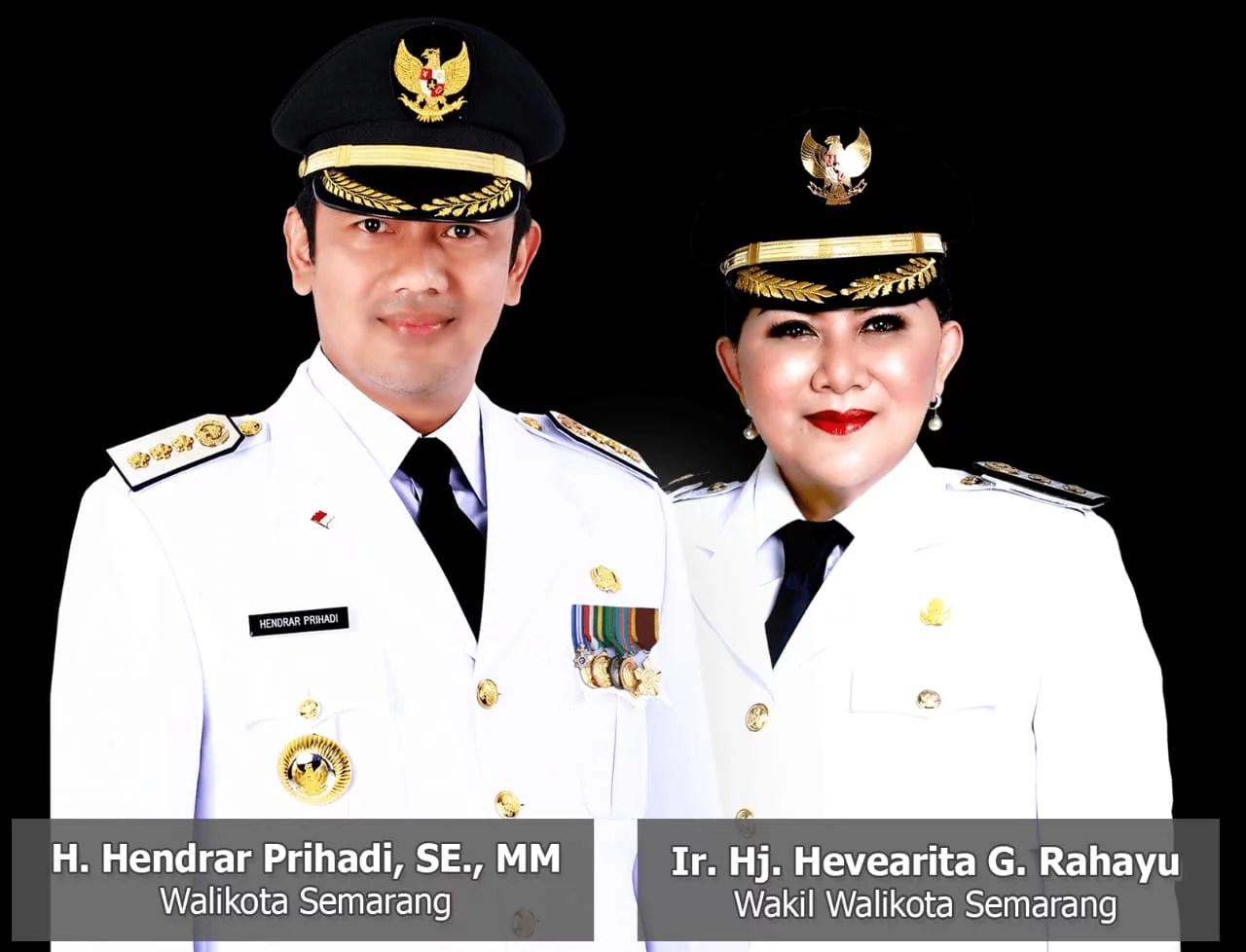 Kompak, Walikota dan Wakil Walikota Semarang Serahkan Gajinya untuk Atasi Covid-19