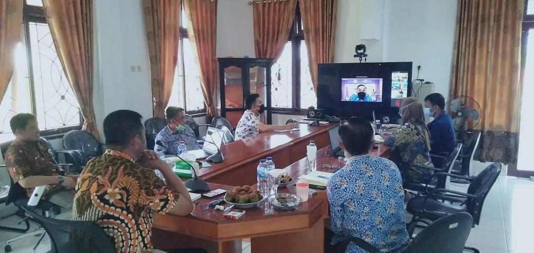Ranperda RPJMD Boltim Selesai Dievaluasi Tim Dalev Provinsi Sulut