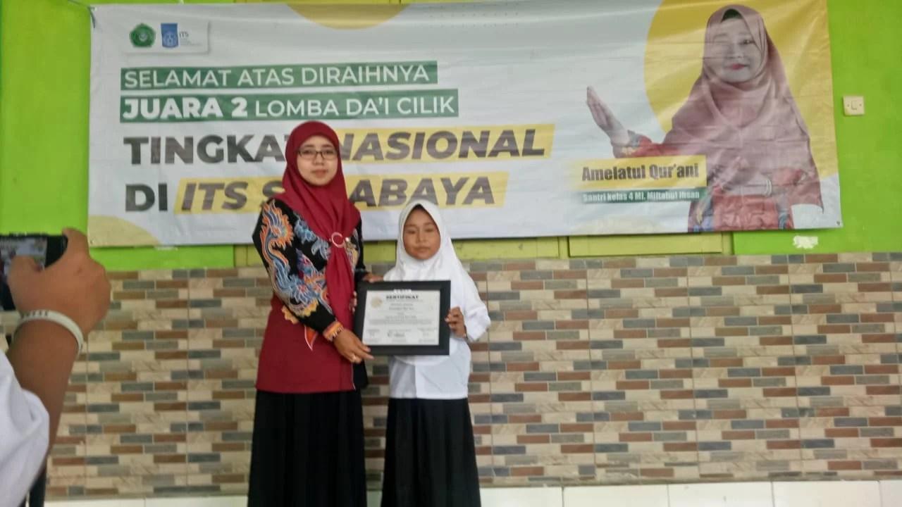 Santri Miftahul Ihsan Juarai Lomba Da'i Cilik di ITS Surabaya