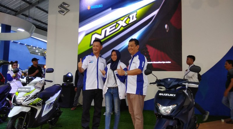 Suzuki NEX II Di Luncurkan di Pekan Raya Jakarta