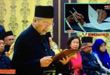 Photo of Kabinet Pakatan Harapan Dibubarkan