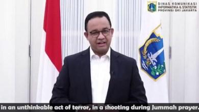 Photo of Gubernur Anies: Jakarta Bersama dalam Solidaritas dengan Christchurch