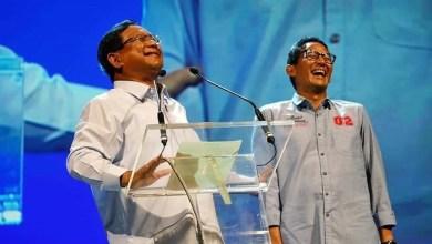 Photo of Prabowo dan Sandi Membanggakan