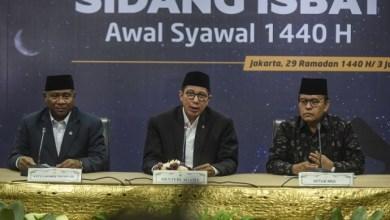 Photo of Pemerintah RI Tetapkan 1 Syawal 1440 H Jatuh pada 5 Juni 2019