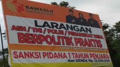 Photo of Bawaslu Temukan Ribuan Pelangaran Netralitas ASN, TNI dan Polri di Pemilu 2019