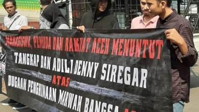 Photo of Mahasiswa Aceh Desak Denny Siregar Diproses Hukum
