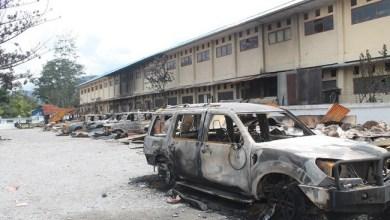 Photo of Rusuh Wamena: 1010 Rumah, Kantor dan Kendaraan Dibakar