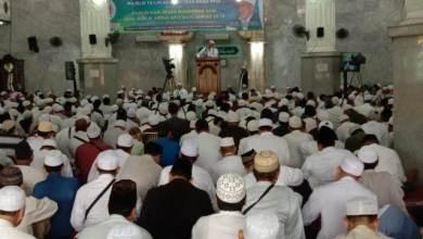 Photo of Ribuan Jemaah Masjid Al Barkah As Syafiiyah Peringati Maulid Nabi