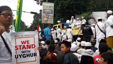 Photo of Jelang Aksi di Jakarta, Umat Islam di Bogor Gelar Aksi Bela Uighur