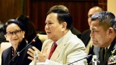 Photo of Bahas Pembebasan WNI Sandera Abu Sayyaf, Prabowo akan Temui Menhan Filipina
